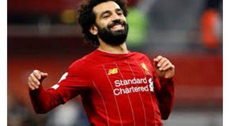 محمد صلاح يتقدم بالهدف الأول لليفربول في شباك مانشستر يونايتد