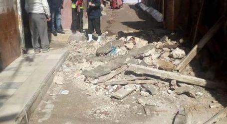 مصرع وإصابة 5 أشخاص في انهيار منزل بسوهاج