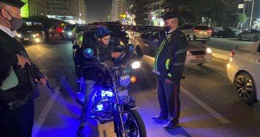 ضبط 566 مخالفة مرورية و9 حالات تعاطى أثناء القيادة فى أسوان
