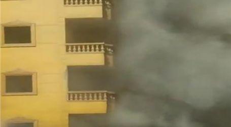 محافظة الجيزة تفتح الطريق الدائرى أمام عقار فيصل المحترق وتؤكد: المبنى غير مائل