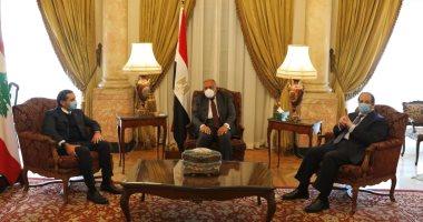 شكري ورئيس المخابرات العامة يلتقيان سعد الحريري ومباحثات هامة لدعم لبنان