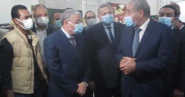 وزير التموين يصل المنيا لافتتاح مراكز خدمة جديدة