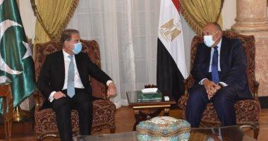 وزير الخارجية: نتعاون مع المجتمع الدولى لإجراء الانتخابات فى ليبيا نهاية العام الحالي