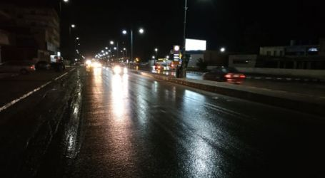 أمطار غزيرة على مناطق متفرقة من القاهرة والجيزة