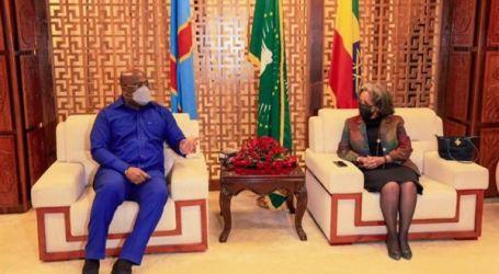 رئيس الكونغو الديمقراطية يصل إلى إثيوبيا