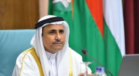 رئيس البرلمان العربي يطالب بحشد الجهود الدولية لحل قضية فلسطين