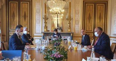 وزير الخارجية سامح شكرى يلتقى نظيره الألمانى