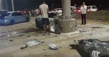 حادث مروع بالقاهرة الجديدة