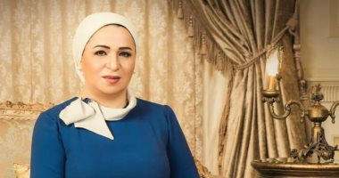 السيدة انتصار السيسى حرم الرئيس عبد الفتاح السيسى