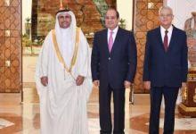 البرلمان العربى يمنح الرئيس عبد الفتاح السيسى وسام القائد
