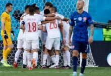 سلوفاكيا ضد إسبانيا