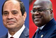 الرئيس عبد الفتاح السيسي ورئيس الكونغو الديمقراطية فيلكس تشيسيكيدي