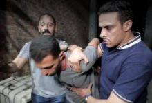 لحظة القبض على المتهم باختطاف طفل الغربية