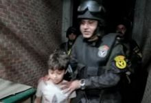 لحظة ضبط مختطفى طفل المحلة