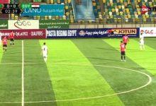 جانب من مباراة منتخب مصر وليبيا